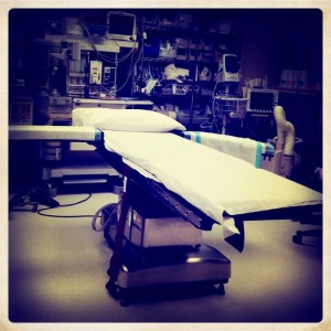 Scary operating room