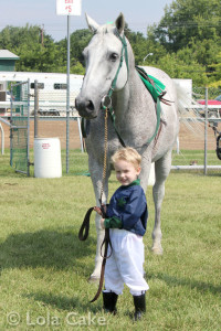 A boy and his OTTB
